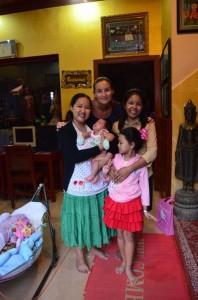 crazy sexy fun traveler with family who runs Mandalay Inn