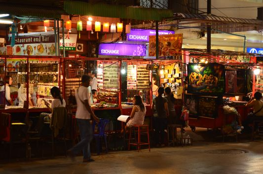 night street stalls in Chiang Mai
