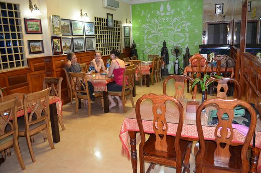 restaurant of Mandalay Inn hotel in Siem Reap