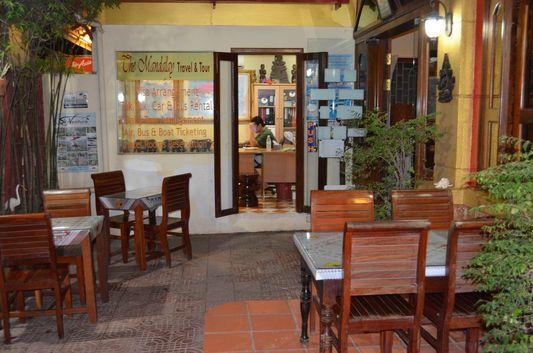 travel agency of Mandalay Inn hotel in Siem Reap