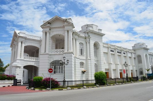 City Hall Dewan Bandaraya in the centre of Ipoh