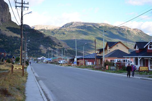 El Chalten Avenue San Martin
