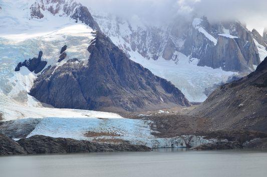 Glacier Grande and Laguna Torre