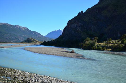 Rio de las Vueltas in El Chalten