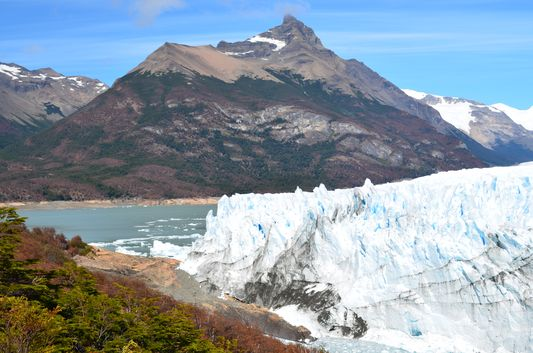 our left side of Perito Moreno