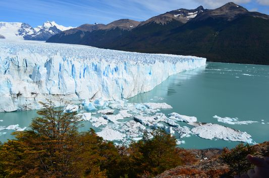 our rightt side of Perito Moreno