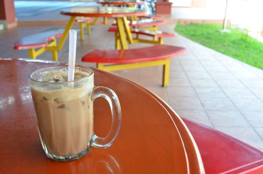 very famous Milo drink in Malaysia