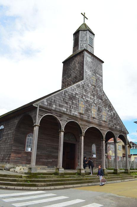 Achao church - the biggest church of Chiloe archipelago