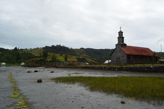 Chullec church on Quinchao island
