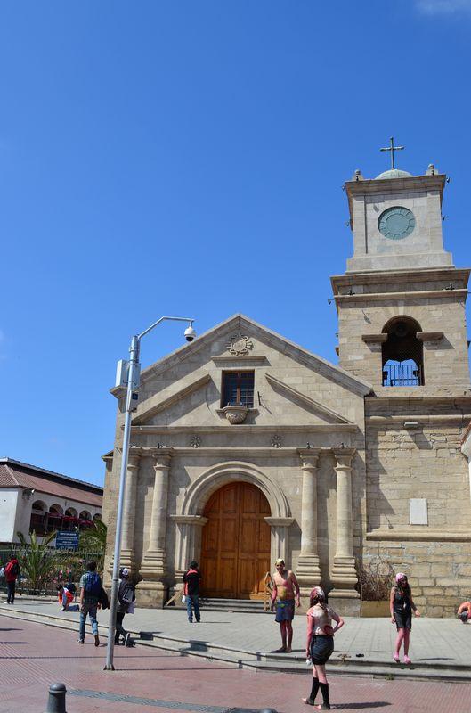 Iglesia San Agustin in La Serena in Chile
