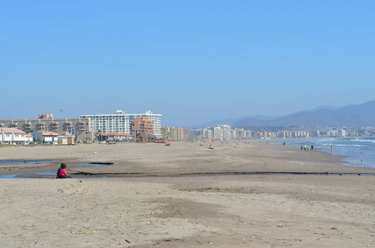 La Serena beach in Chile