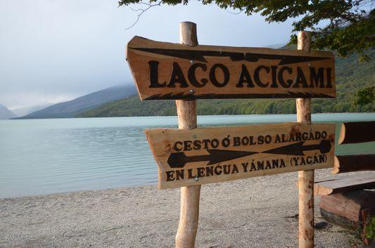 Lago Acigami - Lago Roca in Tierra del Fuego National Park