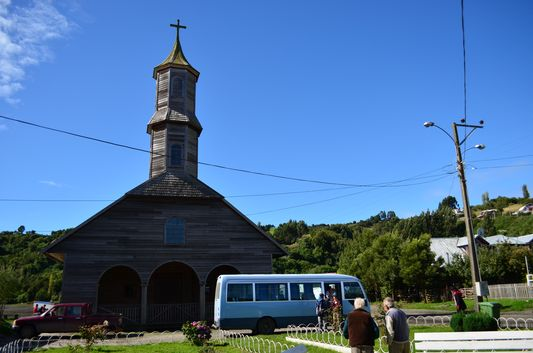 church in San Juan on Chiloe island