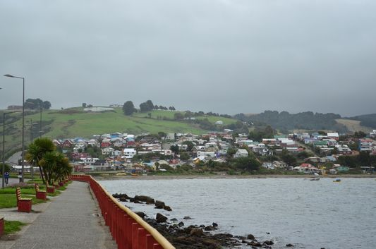 coast in Ancud