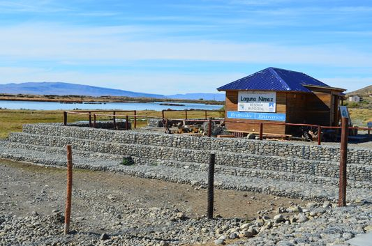 entrance to Laguna Nimez