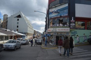 in the streets of Ushuaia