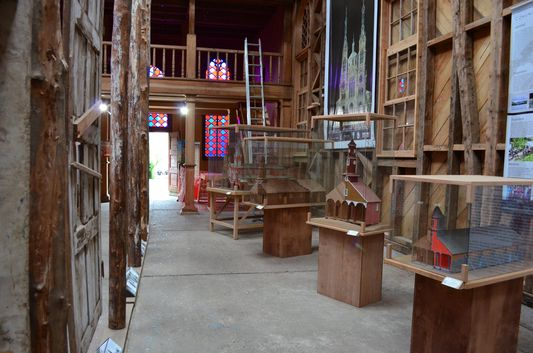 inside Museum of the churches in Ancud