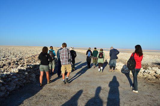 just got to Salar de Atacama