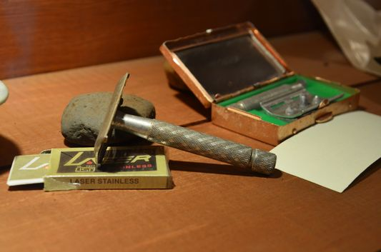 old razors of Quinchao local people in Achao church museum