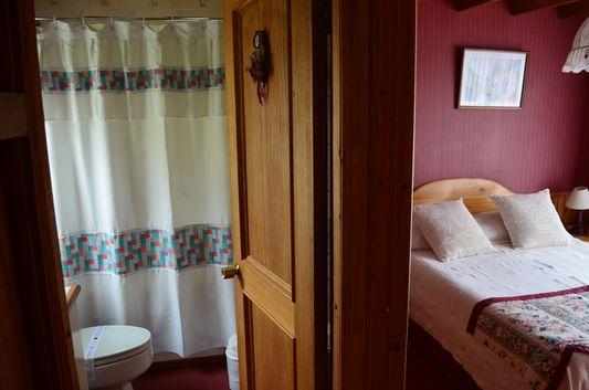 suite in cabañas Molino Viejo in Puerto Varas