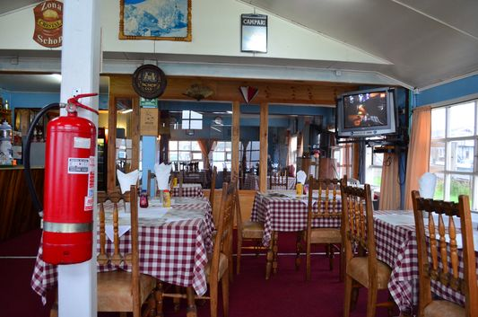 the traditional restaurant in Dalcahue