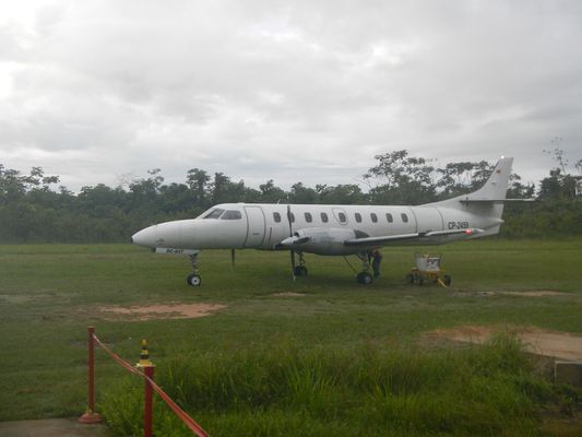 Amaszonas airplane from La Paz to Rurrenabaque