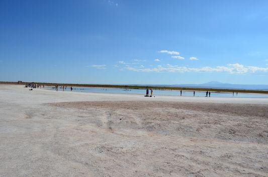 Laguna Piedra in Salar de Atacama