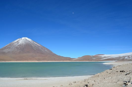 Laguna Verde in the morning