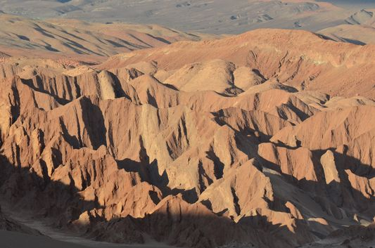 Valle de la Muerte rock formations