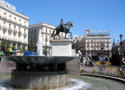 centre of Madrid