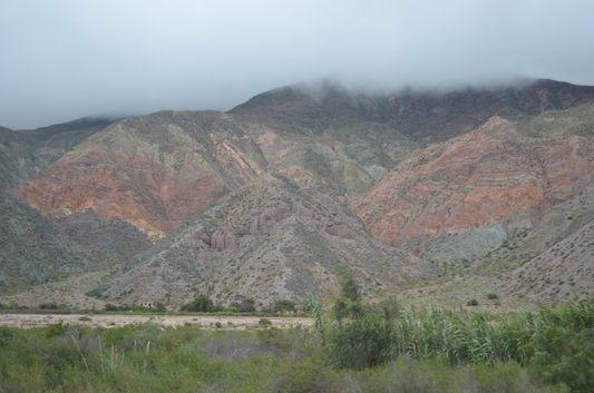 colourful hills around Purmamarca