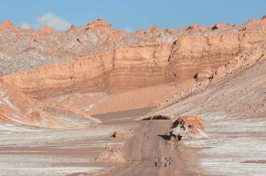 entering Valle de la Luna