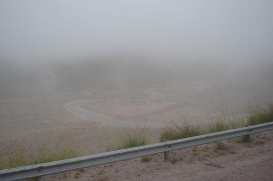 foggy Quebrada de Humauhaca