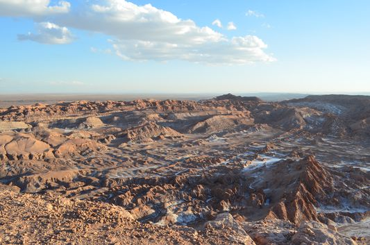 just got to the Anphitheatre of Moon Valley