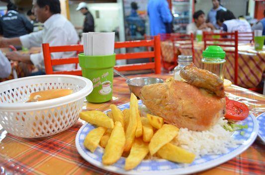 lunch at Mercado Municipal in Salta