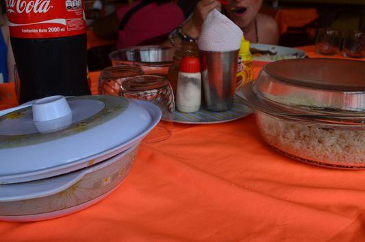 lunch in Santa Rosa