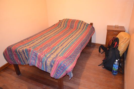 my room in Hotel Avenida in Uyuni