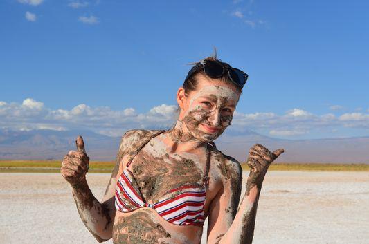 oh yeah, mud!