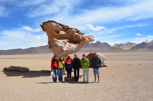 our group at Arbol de la Piedra