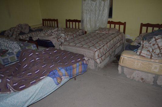 our simple room in Huayllajara