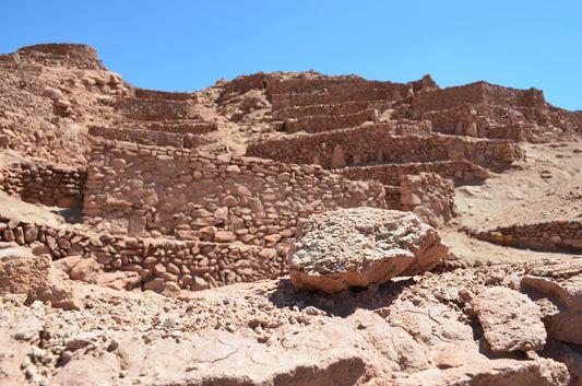 pre-Inca ruins of Quitor
