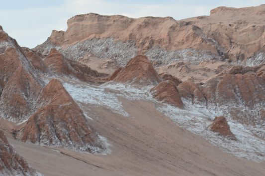 rocks of Moon Valley from closer