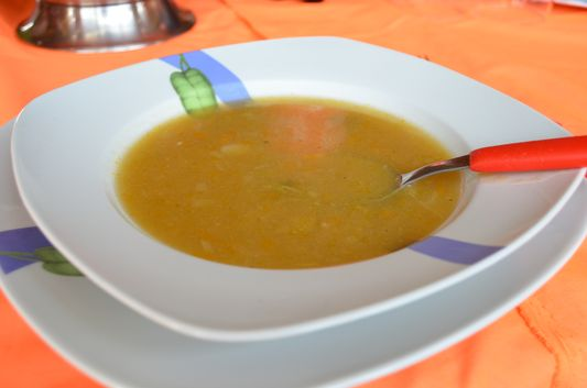 soup for lunch in Santa Rosa