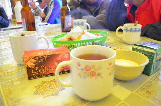 tea time in Huayllajara