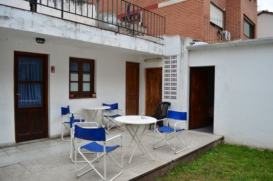 terrace of Alquimia hostel in Salta