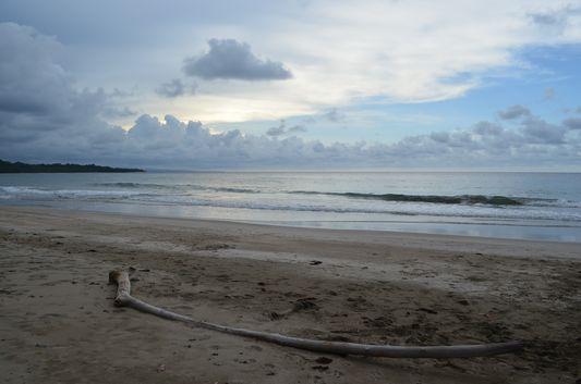 Manzanillo beach before sunset