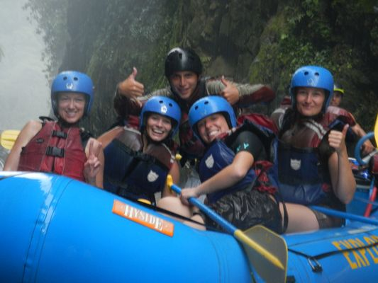 happy rafting