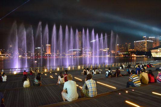 Wonder Full night show in Singapore