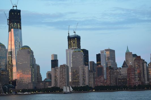 Financial Center with the new World Trade Center