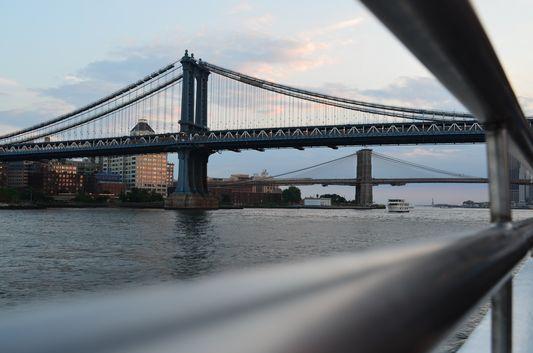 Manhattan Bridge on the way back